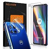 POVINMOS para Motorola Moto G 5G Plus Cristal Templado Protector de Pantalla, 9H Dureza [2.5D , 0.3mm] [Anti Arañazos] [Alta Definicion] [Sin Burbujas] Screen Protector [3 Pack]