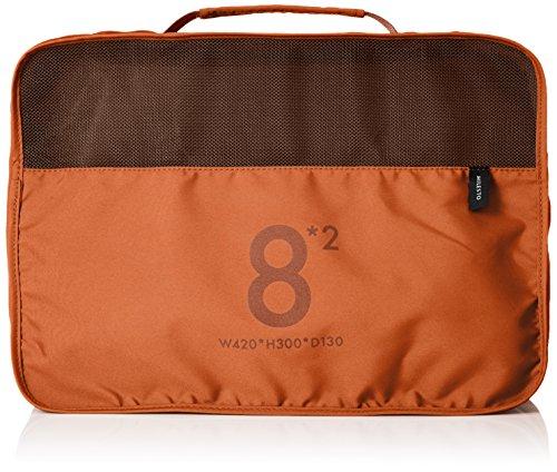 [ミレスト]MILESTOミレスト旅行用便利グッズ旅行用収納収納ケース衣類撥水8lパッキングオーガナイザーUtility16L30cmオレンジ橙orange