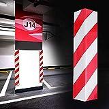 2PCS Protector Columnas Garaje Paragolpes Autoadhesivo Protectores para Esquinas Adhesivo Parking Protector Puerta Garaje para La Puerta de Coche