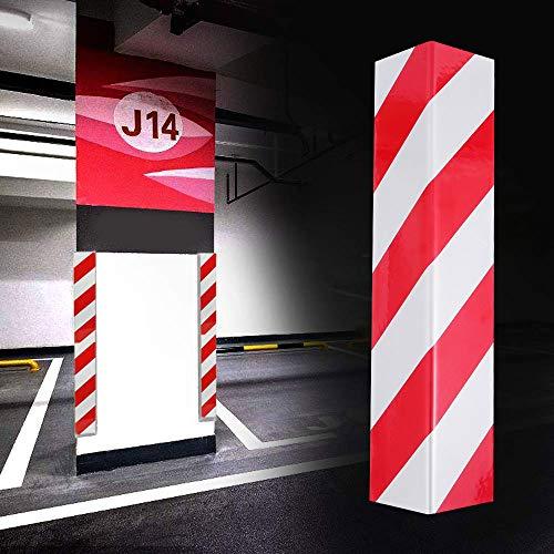 2 PCS Protección para Parachoques espuma para Golpes Coche Protectores para Esquinas Adhesivo de la Columna del Garaje para La Puerta de Coche