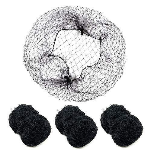 100 Stück Haarnetze unsichtbar Elastisches Haarnetz, 20