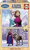 Puzzles Educa - Frozen, 2 x 25 piezas (16162)