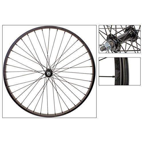 Wheel Master Front 26 x 1.75/2.125, WEI-AS7X Black 3/8, 14g Blk SS Spokes, 36H