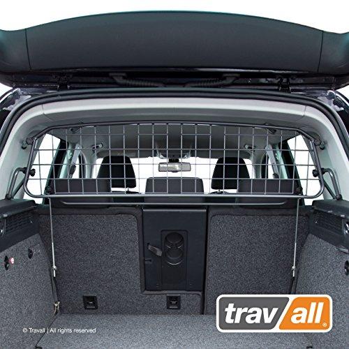 Travall Guard Hundegitter Kompatibel Mit Volkswagen Tiguan (2007-2016) TDG1424 - Maßgeschneidertes Trenngitter in Original Qualität