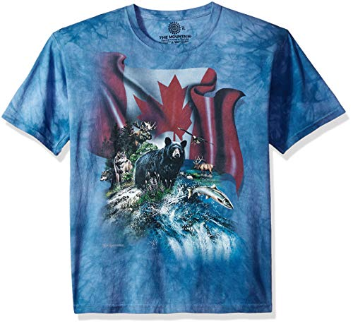 The Mountain Unisex-Adult's Canada The Beautiful, Blue, Small