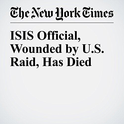 ISIS Official, Wounded by U.S. Raid, Has Died audiobook cover art