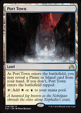 Magic The Gathering - Port Town (278/297) - Shadows Over Innistrad