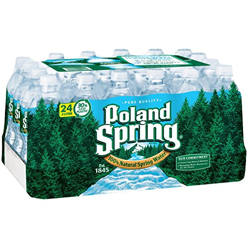 Pol and Springs Spring Water, .5 Liter, 0.50-Count (Pack of 24)