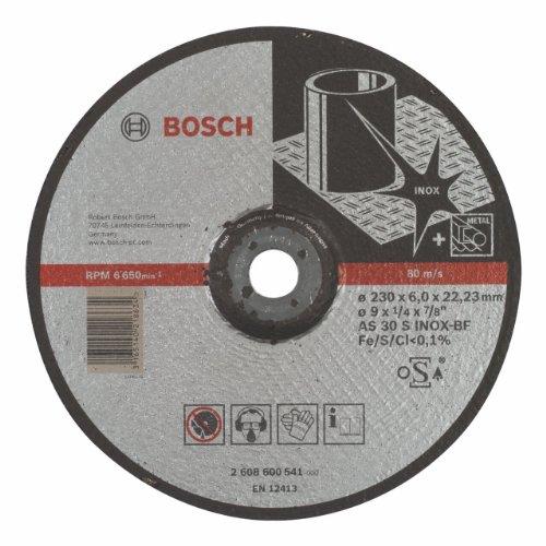 Bosch Professional 2608600541 slijpschijf voor metaal en staal 230 x 6 mm