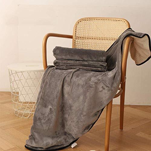 elastischer Rock, kleine Heizdecke, Beine bedeckend, im Winter warm, Knieschützer, Heizkissen für Office-Grey_100X65cm