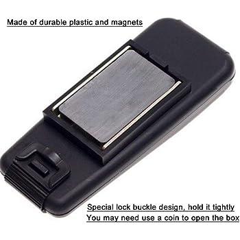 OurLeeme Caja magnética para Llaves, Caja para Porta Llaves del ...