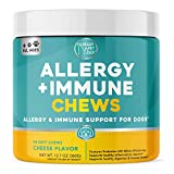 Ready Pet Go! Allergy Immune Supplement for Dogs with Itch Relief & Allergy Relief | Omega 3 for Dogs + Probiotics for Dogs | Hot Spots | 90 Vitamins for Dogs