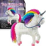 3 Bees & Me Yarn Unicorn Craft Kit for Girls and Boys - Unicorn Arts & Crafts...