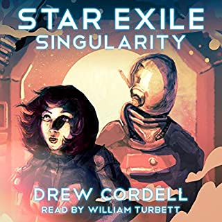 Star Exile: Singularity audiobook cover art