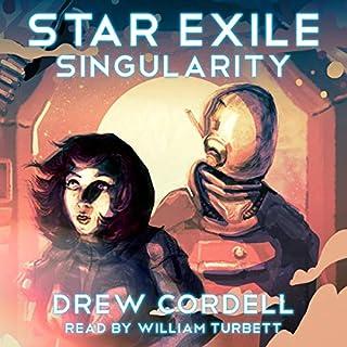 Star Exile: Singularity audiobook cover art