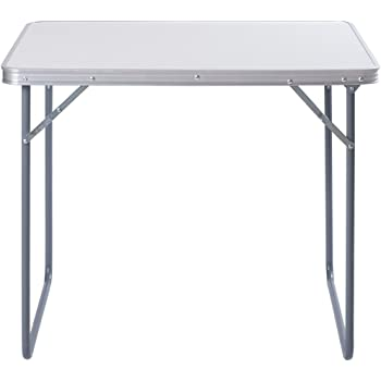 ZNL Aluminium Klapptisch Campingtisch Koffertisch Falttisch Gartentisch Campingmöbel Klappbar 60 x 80 x 70cm AFT 01