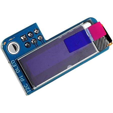 Blue x 2pcs DIYmall PiOLED 0.91inch I2C 128X32 SSD1306 OLED ...