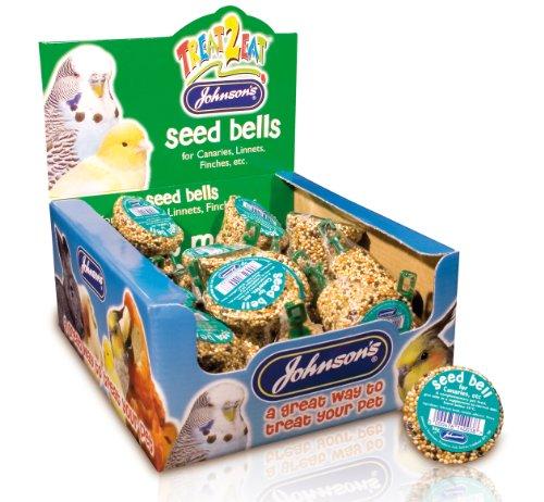 Johnsons Veterinary Products Ltd Jvp Treat2eat Kanarienvögel / Finken Kerne Glocke 34g