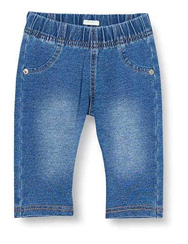 United Colors of Benetton (Z6ERJ) Pantalone Jeans, BLU 901, 74 cm para Bebés