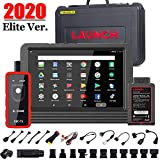 LAUNCH X431 V PRO (Same Functions as X431 V+) Bi-Directional Scan Tool Full System Scanner,Key Programming,30+ Reset Functions ECU Coding ABS Bleeding,TPMS, Full Connector Kit- EL50448 TPMS Tool
