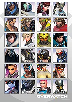 Trends International 8.25x11.75 MDF - Overwatch - Portraits Wall Poster 8.25  x 11.75  x .197  Unframed Version