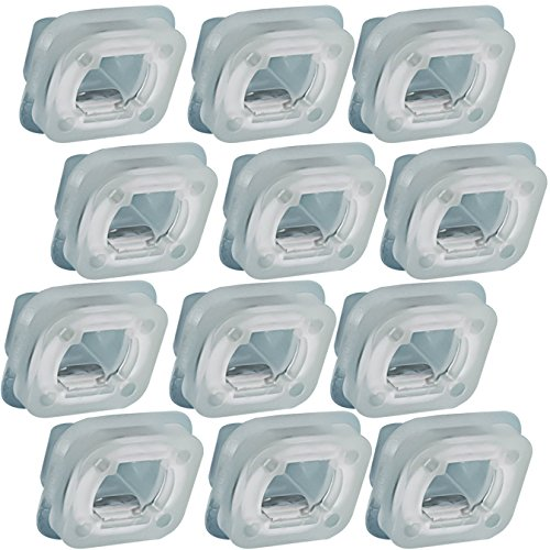 OxGord Trim Finisher Clips Best for Select BMW Replaces 07149158194 (Pack of 12) Interior Trim Panel Clip Set
