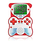 EASEGMER Kids Handheld Video Game Player, 12 Bit Retro Portable Games Console with 220 Classic FC Games Rechargeable 2.6 Inch Mini Arcade Hand Held Game Console Support TV, Best Gift for Boy Girls