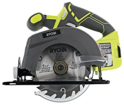 The Ryobi One+ P505 battery powered circular saw evaluation