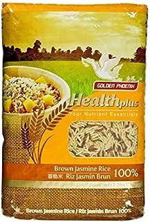 Sponsored Ad - Golden Phoenix Brown Jasmine Rice - 2.2 lbs Whole Grain Brown Rice, Fragrant Aroma, Great for Vegans & Vege...