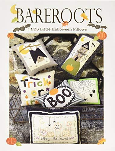 Bareroots 235 Little Halloween Pillows Ptrn,