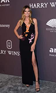 Posterazzi Poster Print Heidi Klum (Wearing A Versace Dress) at Arrivals for 19Th Annual Amfar Gala Cipriani Wall Street New York Ny February 8 2017. Photo by RcfEverett Collection Celebrity (8 x 10)