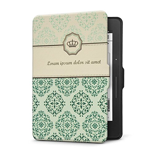 Ayotu Case for Kindle Voyage E-Reader Auto Wake and Sleep Smart Protective Cover, for 2014 Kindle Voyage Case Painting Series KV-09 The Natural Book