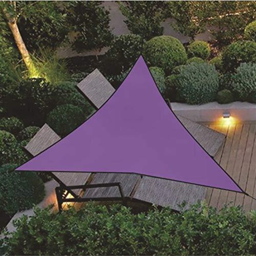 Garden Parasol Cantilever Umbrella 3x3m 4x4m Waterproof Triangle Awning Shade Sail Garden Patio Pool Sunshade Protection Sun Outdoor Sun Shelter Shade Sail For Backyard, Pool Umbrella