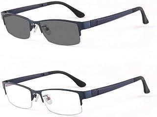 /Photocromic Lens Transition Business Frames Reading Glasses