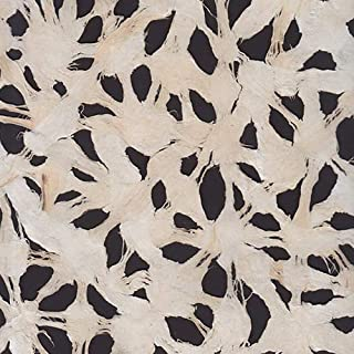 Spiderweb Amate Bark Paper from Mexico- White 15.5x23 Inch Sheet - Spiderweb Amate Bark Paper from Mexico- White 15.5x23 Inch Sheet