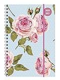 Collegetimer Roses 2020/2021 - Schüler-Kalender A5 (15x21 cm) - Rose - Ringbindung - Weekly - 224 Seiten - Terminplaner - Alpha Edition (Collegetimer A5 Ringbuch)