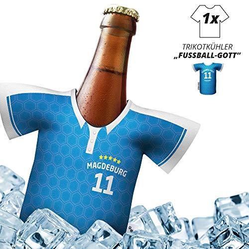 Herren Trikot 2019/20 kühler Home für FCM-Fans | FUßBALL-Gott | 1x Trikot | Fußball Fanartikel Jersey Bierkühler by Ligakakao