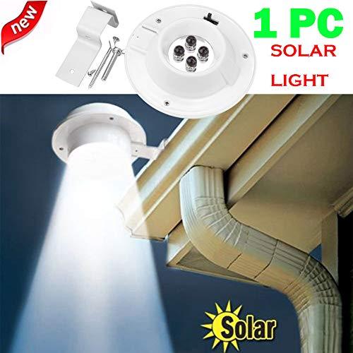 STHfficial Hoogwaardige nieuwe LED zonnelamp licht in de buitenlucht/tuin/binnenruimte/wand/hek/pahway lamp schijnwerper