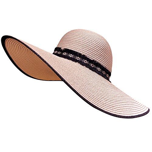 Générique Dames d'été Sun Hat Dentelle Joker Beach Hat
