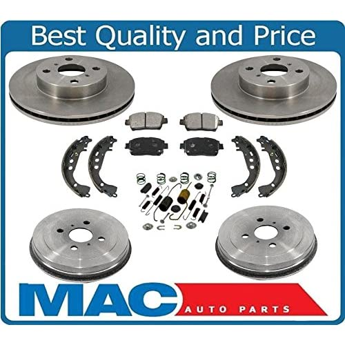Brake Pads And Rotors Prices >> Brake Pad And Rotor Kit 05 Scion Xa Amazon Com