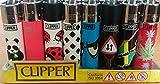 CLIPPER Wundertüten Überraschungsmix Collector Mix Clipper Feuerzeuge plus gratis Zugaben (48...