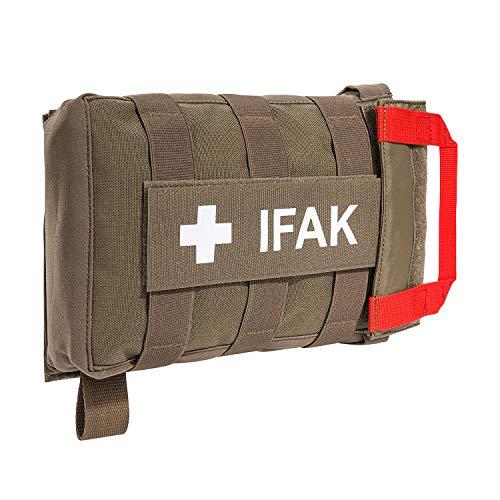 Tasmanian Tiger TT IFAK Pouch VL L Molle Kit de premiers secours avec sac de ceinture avec fermeture crochet et boucle arrière vide pour randonnée, voyage, service de police, 7889, Coyote Brown