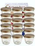 40 Sturzgläser 230 ml Marmeladengläser Einmachgläser Einweckgläser To 82 silberner Deckel incl.