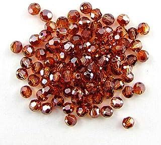12 4mm Swarovski Crystal Round Crystal Red Magma SND-0030