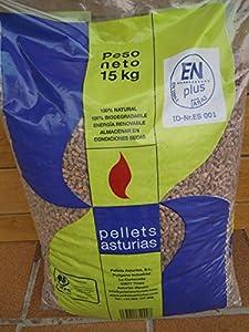 Pellets Asturias. S.L. - Pellets Madera En Plus A1 Saco 15Kg