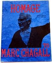 """1989 VINTAGE /""""CHAGALL PEINTURES AQUARELLES/"""" MOURLOT MINI POSTER COLOR Lithograph"""