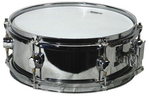 Basix F801114 Classic Rullante, Acciaio, Snare Drum, 12 X 4,5 Pollici