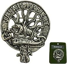 DevilFish Scottish Crest Pin Badge