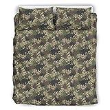 O5KFD&8 - Juego de ropa de cama hipoalergénica y fundas de almohada (3 piezas,...