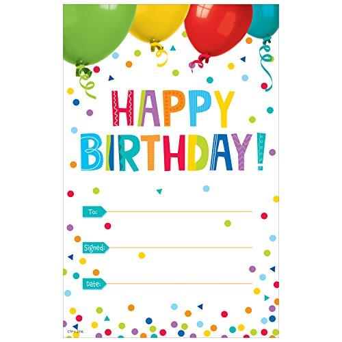 Creative Teaching Press Happy Birthday! Award (1313)